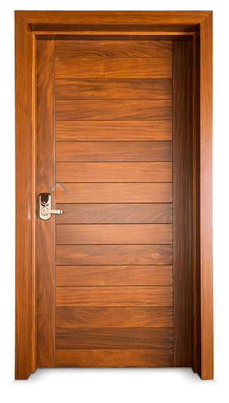 Pyramid Timber Solid Door R1DF