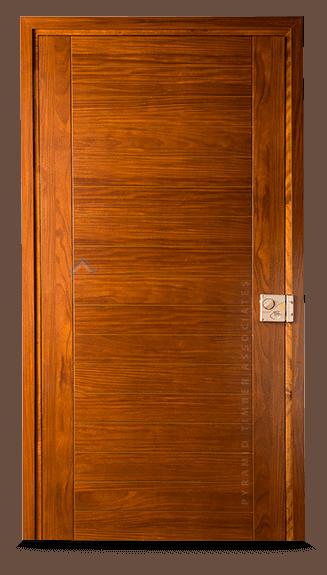 Pyramid Timber Flush Door R2CB